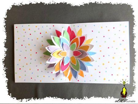 ART 2013 05 fleur pop-up multicolore 4