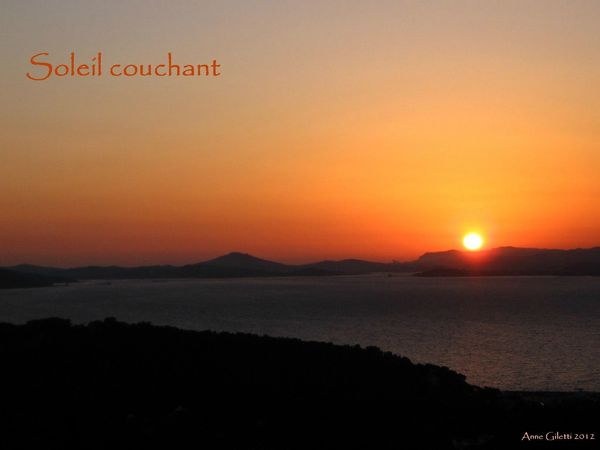Photo Soleil Couchant Et Complainte De La Mer Poeme De