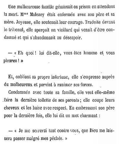 Mme Malezey