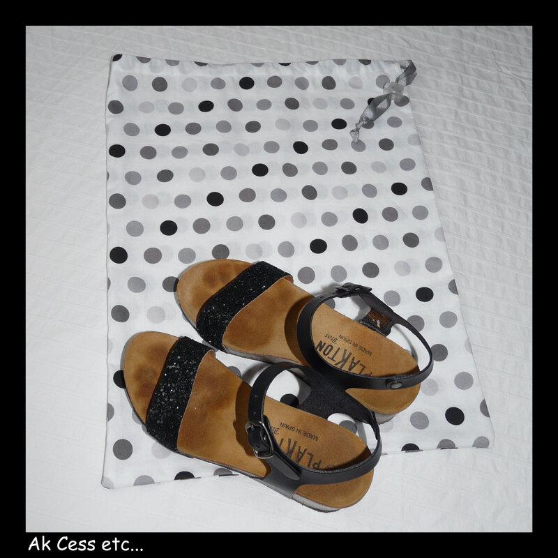 pochon à chaussures