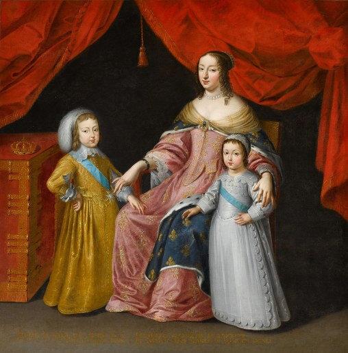 Louis XIV Anne d'Autriche