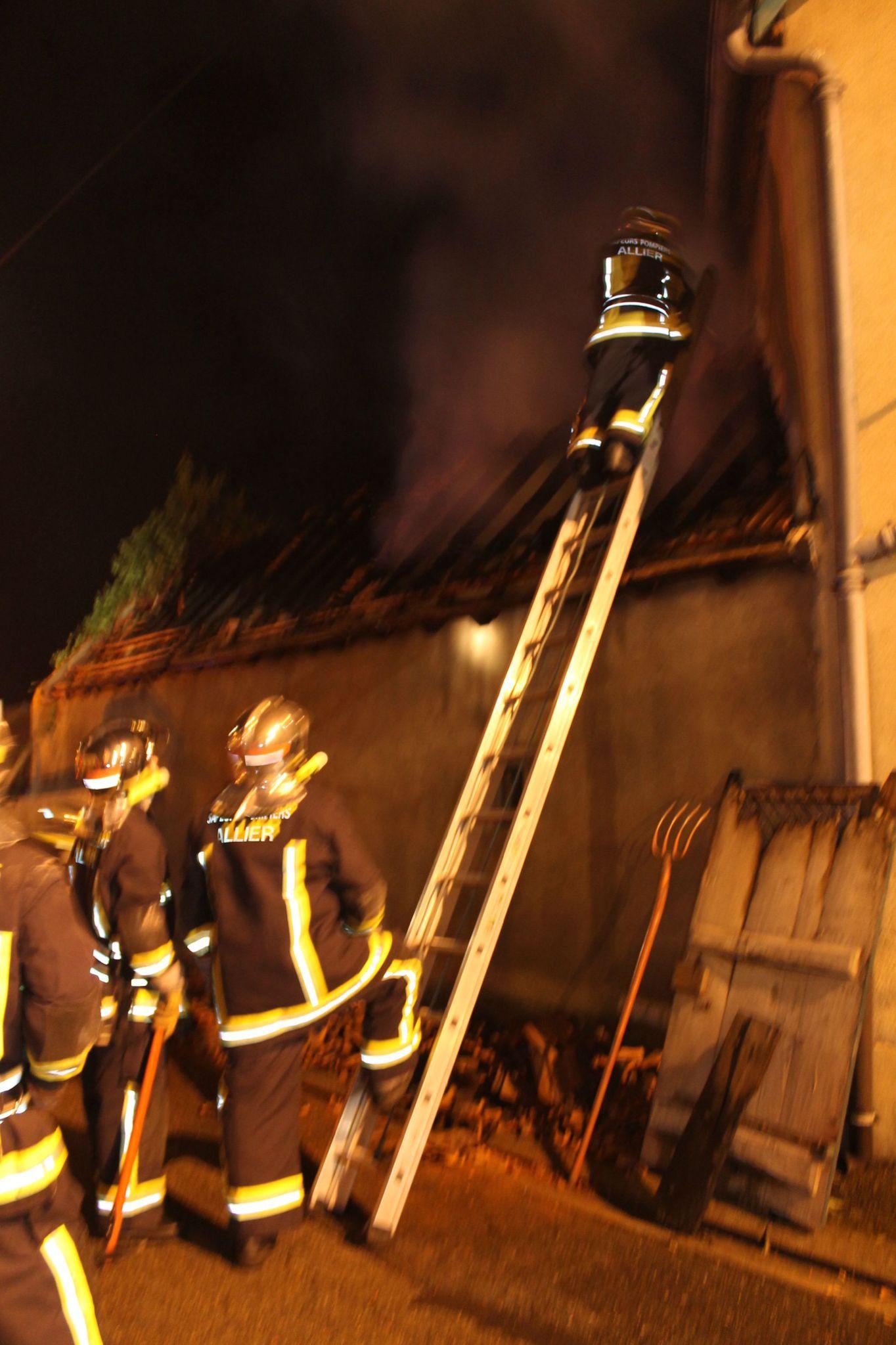 Incendie du 04.09.2012 Néris les Bains