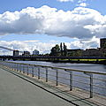 river clyde, à glasgow