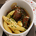 Carbonade de boeuf au pain d'epices
