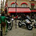 Instantané rue de Buci.