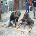 2008 - 70 - Construction du castelet à ombres pour Pékabo