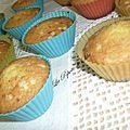 Queques de limão ( petits cakes au citron)