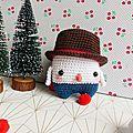 Simon le bonhomme de neige ~ lalylala