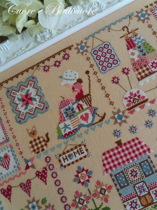 quilting in quilt 3