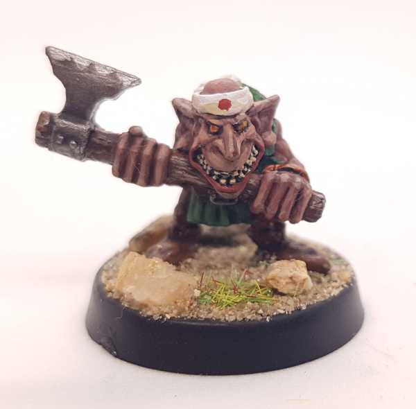Goblin with Axe / Citadel