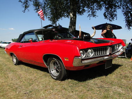 FORD Torino GT Convertible 1971 Concentration de Vehicules Americains Ohnenheim 2011 1