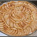 Tarte pommes pommes pommes