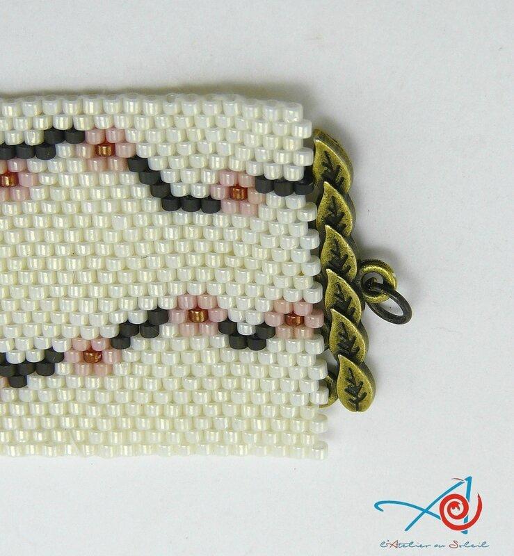Bracelet cherry blossom détail - L'Atelier au soleil