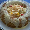 Savarin aux fruits