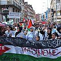 G x - Manifestation pour un état Palestinien