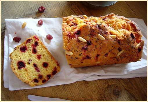 cake cranberries betterave
