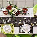 Mariage thème chocolat et blanc