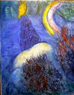 Chagall, La traversée de la mer rouge
