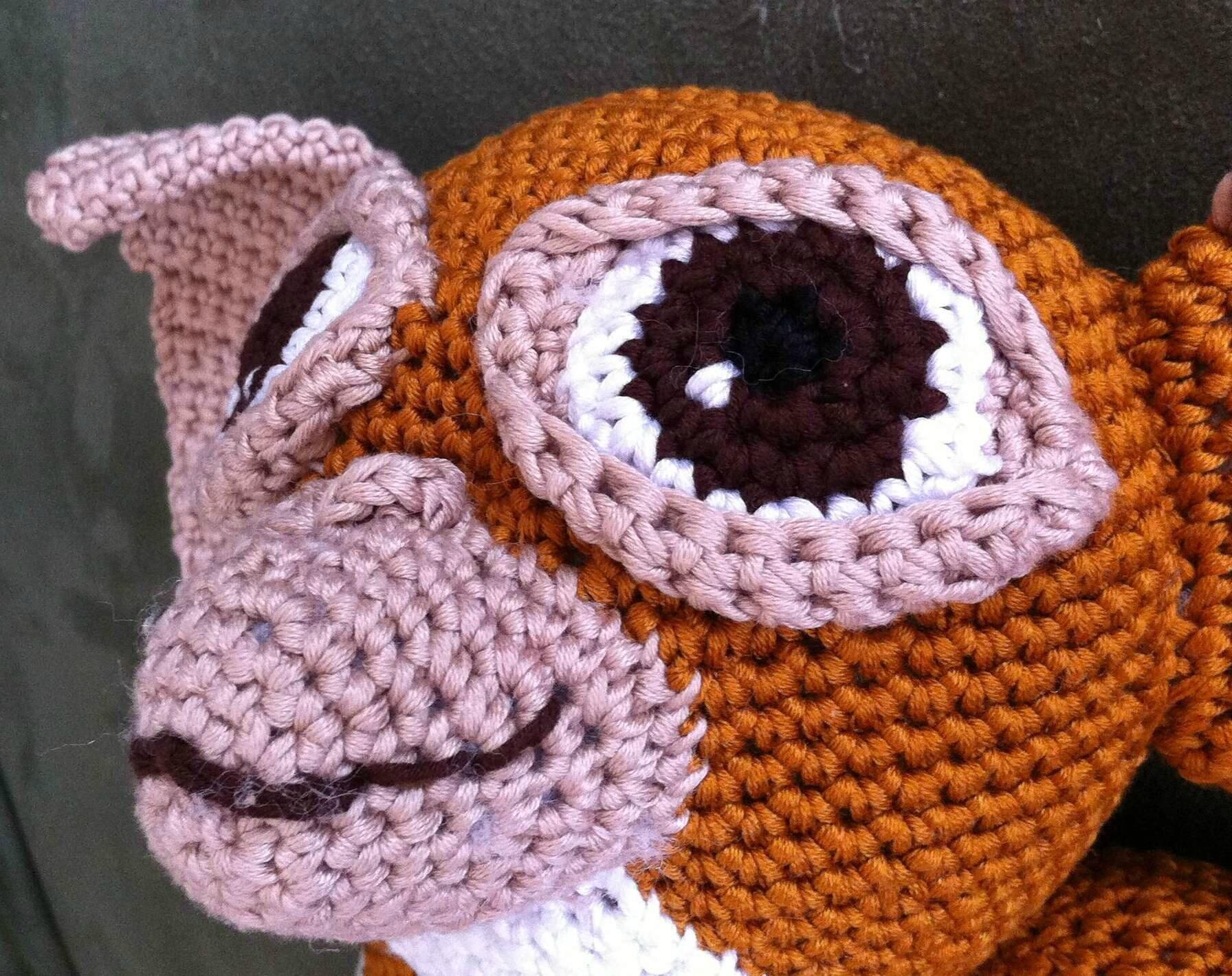 Oeil de Gizmo crochet