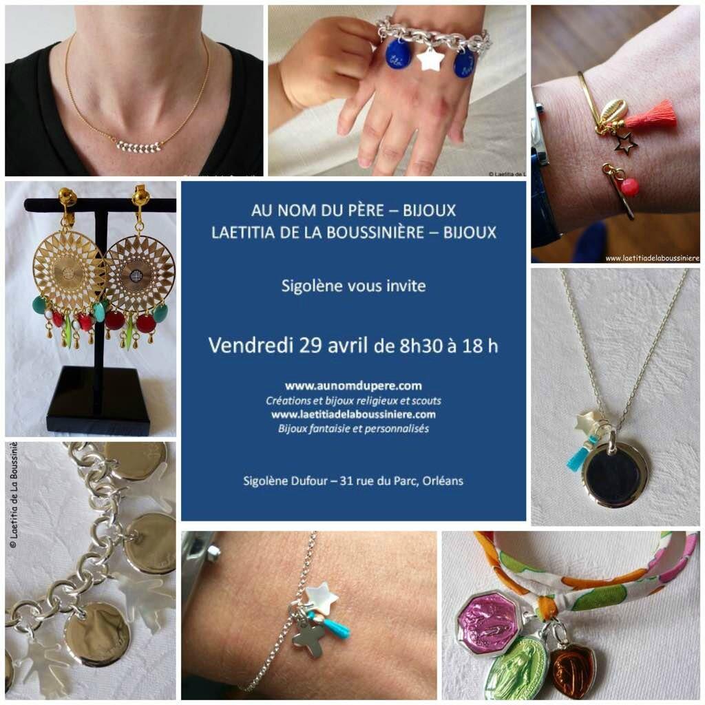 Invitation pour la vente à Orléans