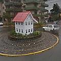 Rond-point à gramado (brésil)