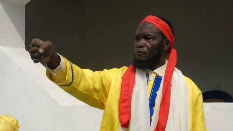 NE MAVUEMBA NKOSI LORS DE LA FETE DE L'INDEPENDANCE DU KONGO CENTRAL