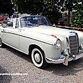 La mercedes 220 s cabriolet (w180ii) de 1956 (regiomotoclassica 2010)