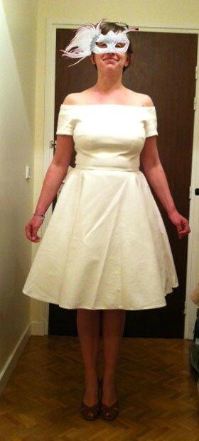 Robe de mariée Catherine originale devant