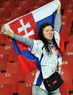 supportrice slovaque