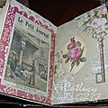 Junk journal - les pages