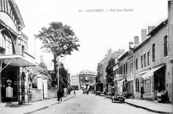 FOURMIES-Rue Jean Jaurès