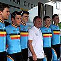 Tour de l'avenir montront -les -bains 42 2016 team belgique
