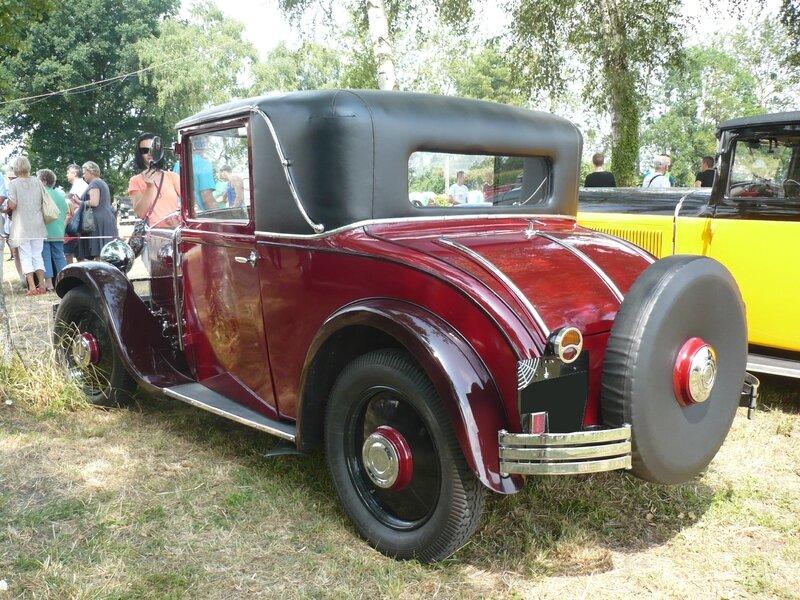 MATHIS Type PYC coupé faux cabriolet 1931 Ohnenheim (2)