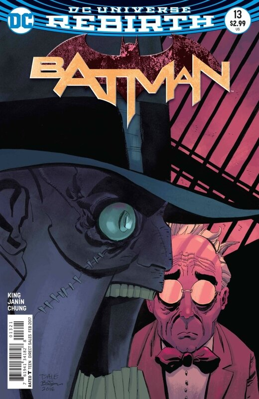 rebirth batman 13 variant