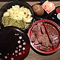 Bento filet de merlan (boeuf)