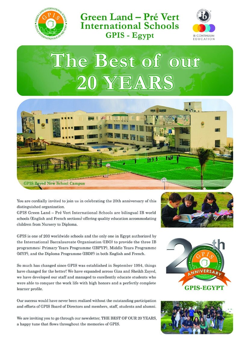 The best of our 20 years !!
