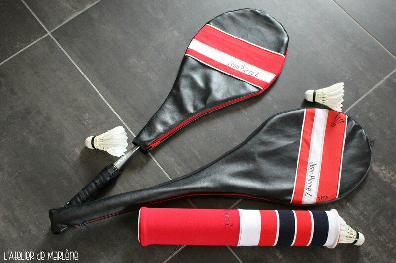 Housses badminton Jean Pierre