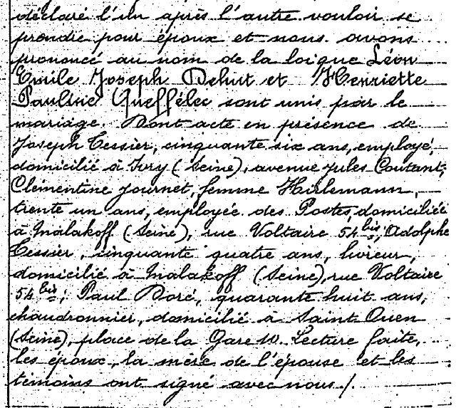 1918 Malakoff mariage Queffelec Dehut_3