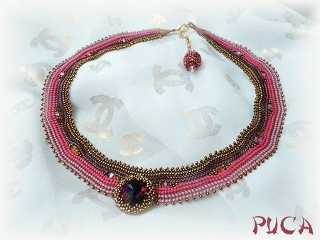 collier jeanne cabochon