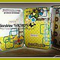 Mini album dans une boîte de sardines