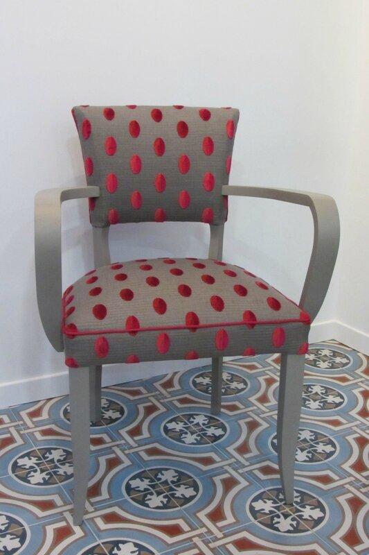 fauteuil bridge retapissé tapissier côté sièges