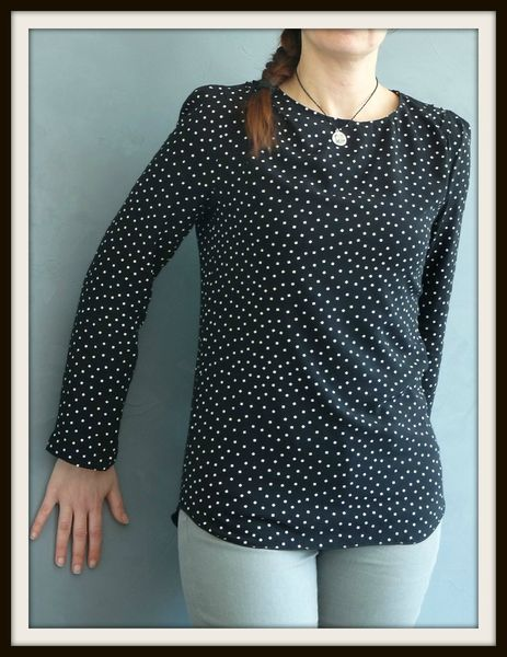 blouse dressing chic 1