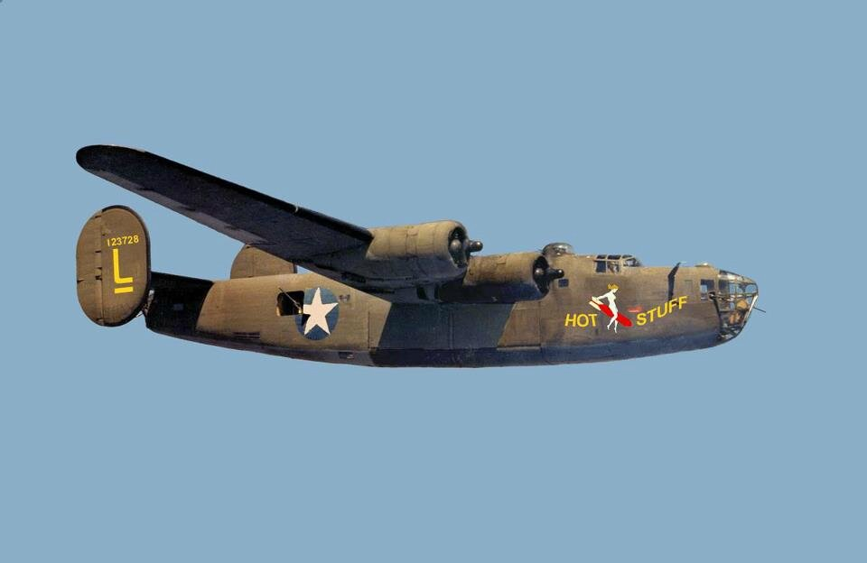 Consolidated-B-24-Liberator-Hot-Stuff