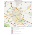 CARTE COULEE VERTE A REIMS