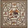 Ancient roman mosaic from israel on view @ metropolitan museum