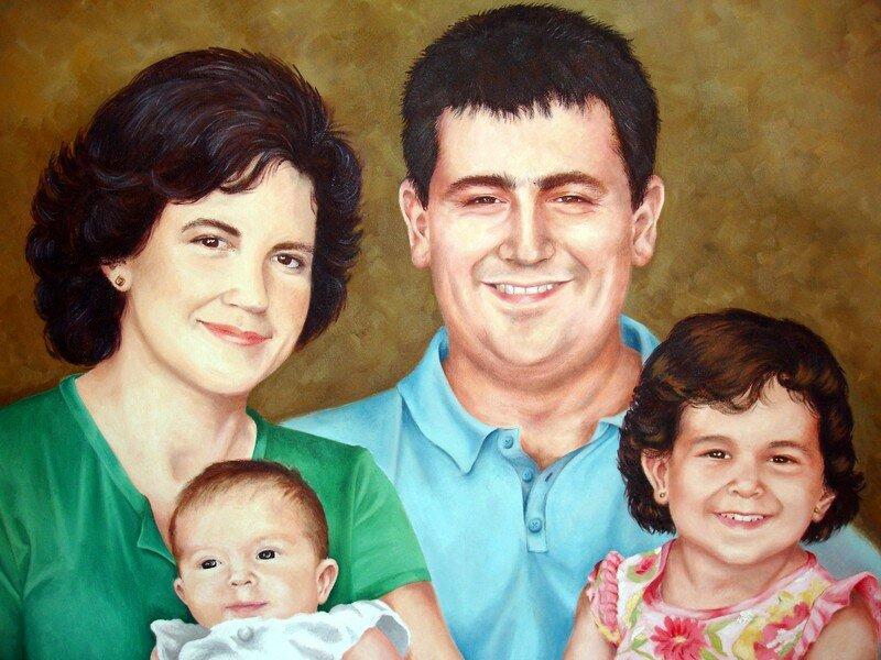Vicente y familia