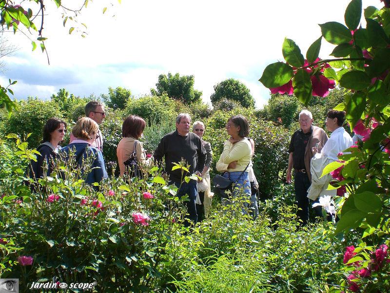 Un dimanche de Mai 2008 à la roseraie de Moraille