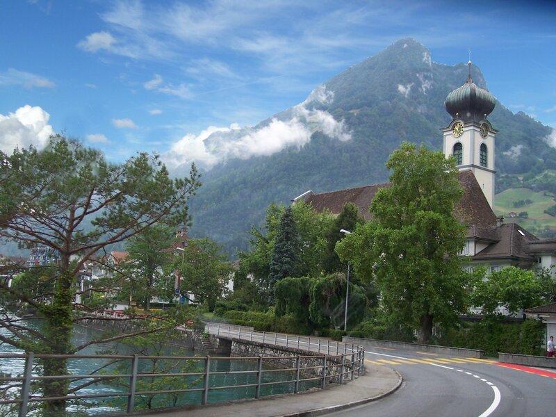 Weggis église