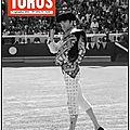 Toros est paru (n° double) 7 septembre
