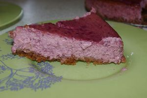 cheesecake fruits rouges base Speculoos 010